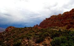 Rock Climbing Photo: Hiking up to Hidden Valley