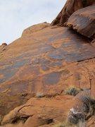 Rock Climbing Photo: Up close. Photo: Paul Bucher