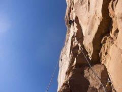 Rock Climbing Photo: Chip, pitch 3