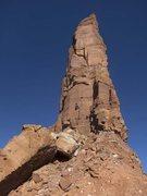 Rock Climbing Photo: Chip jumaring