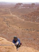 Rock Climbing Photo: the summit, finally.....