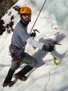 Rock Climbing Photo: Ryan heading to the base of Breakfast Blend