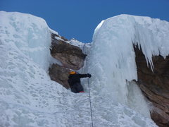 Rock Climbing Photo: A closeup of the top.