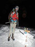 Rock Climbing Photo: summit shot on chimborazo