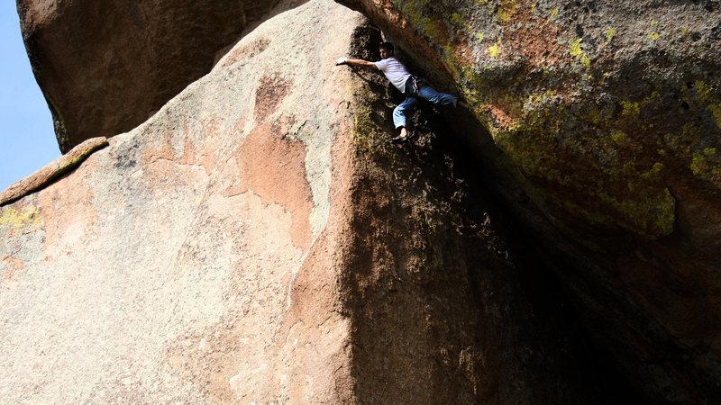 Rock Climbing Photo: Veda-whooooo