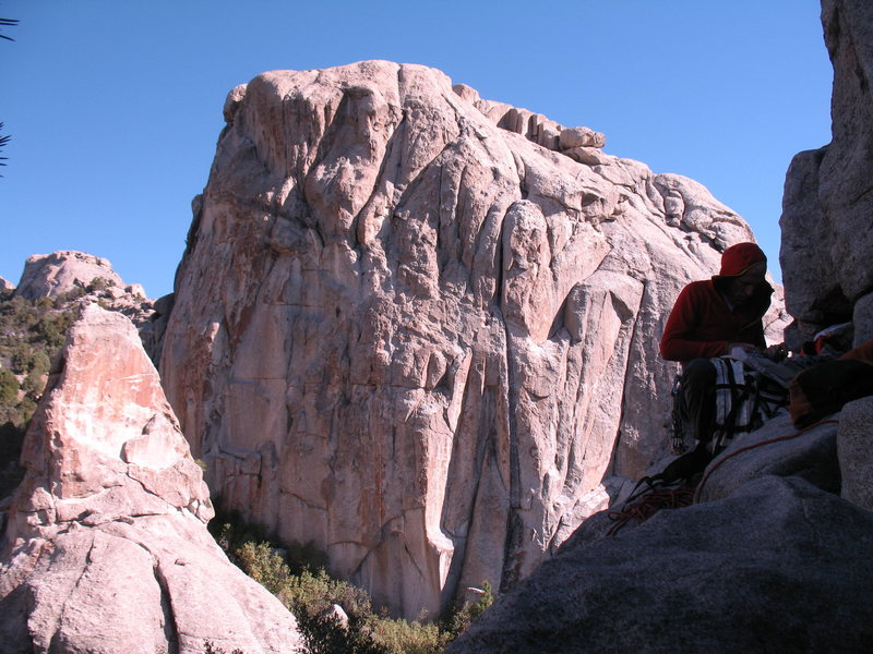 Rock Climbing Photo: I was trying to get a pic of the next rock over fr...