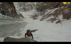 Rock Climbing Photo: kiener's route novemeber 2012