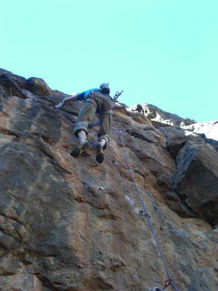 Rock Climbing Photo: Oncore FA