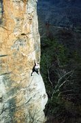 Rock Climbing Photo: unknown route