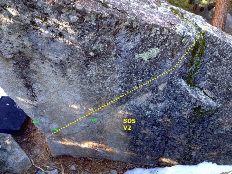 Rock Climbing Photo: Corridor Problem
