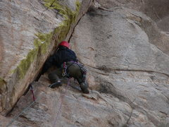 Rock Climbing Photo: J. Fox on MGTS