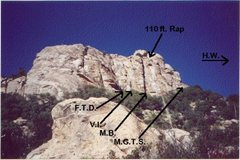 Rock Climbing Photo: Los Viejos Crag