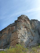 Rock Climbing Photo: The Bishop. Crux doesn't show up well in photo, bu...