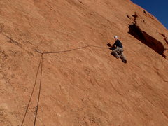 Rock Climbing Photo: The hardest 5.7 you'll ever climb they say...  I c...
