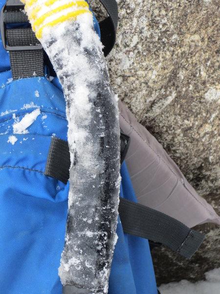 Rock Climbing Photo: icy tool