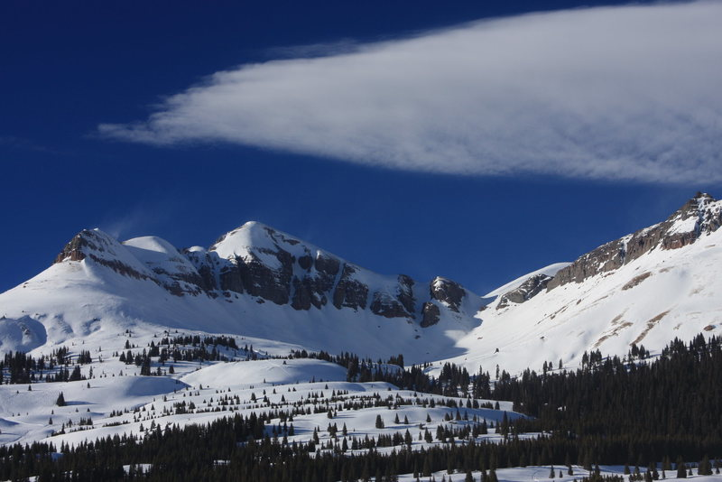 More insanely good skiing at Molas Pass.
