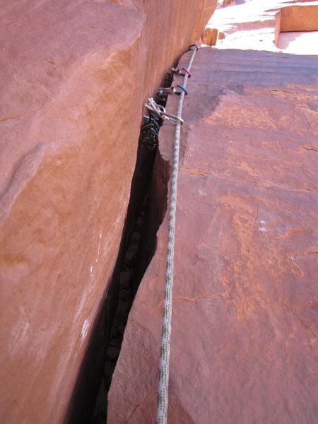 Rock Climbing Photo: the sweet spot