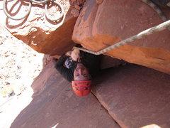 Rock Climbing Photo: taylor on the job