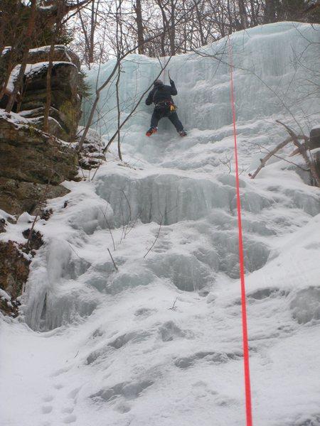 Rock Climbing Photo: Todd Paris on FA