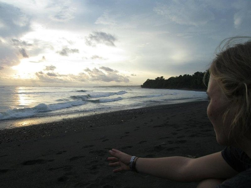 The Pacific Ocean in Corcovado, Osa Peninsula, Costa Rica