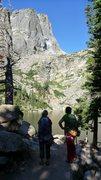 Rock Climbing Photo: Rocky Mountain National Park