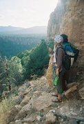 Rock Climbing Photo: Overlook at Shelf Road