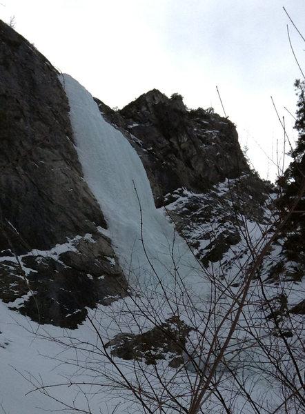Rock Climbing Photo: Backoff