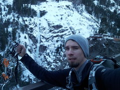Rock Climbing Photo: Post Horsetail Falls ascent (Ouray, CO)