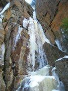 Rock Climbing Photo: Rampage, McMartin Cliff.