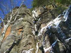 Rock Climbing Photo: Gin and Juice, McMartin Cliff.