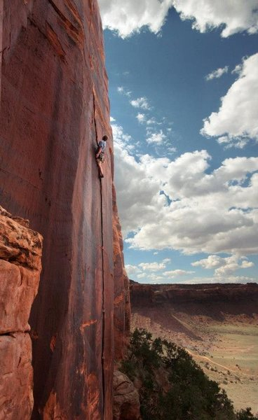 Rock Climbing Photo: Country