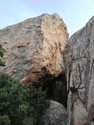 Rock Climbing Photo: The view as you approach 'Oddysee' and 'Highway'