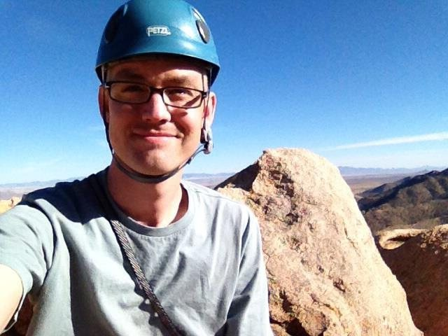 Rock Climbing Photo: Sitting on top of Wasteland