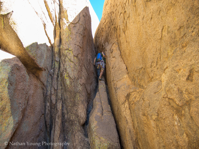 Rock Climbing Photo: What's My Line Class 5 Approach.  Bring APPROACH S...