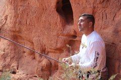 Rock Climbing Photo: In Red Rocks Nevada...beautiful day.