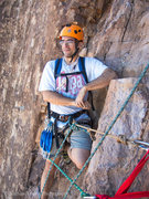 Rock Climbing Photo: The second pitch belay.  It has some pretty good l...