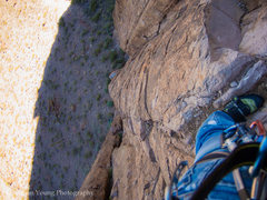 Rock Climbing Photo: First Belay Station