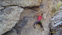 Rock Climbing Photo: Bouldering at Hairpin