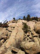 Rock Climbing Photo: P3 (the money pitch) of Wax 'n Wane. Perfect handc...