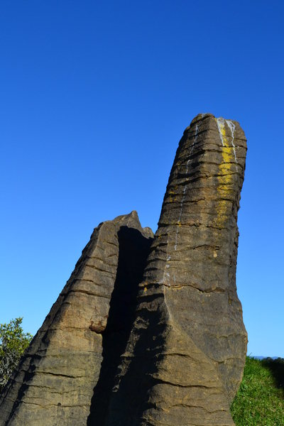 Rock Climbing Photo: Limestone is cool