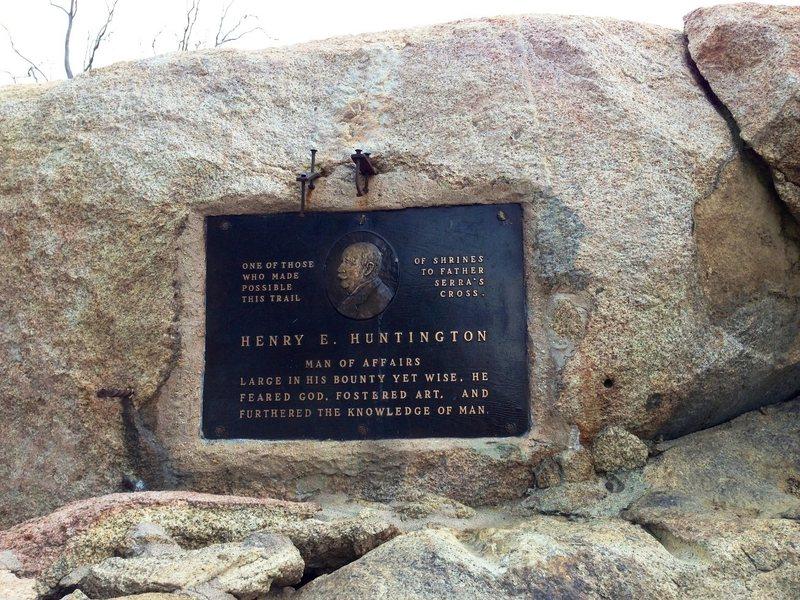 Rock Climbing Photo: Henry Huntington Memorial