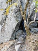 Rock Climbing Photo: The exit from Fat Mans Squeeze.