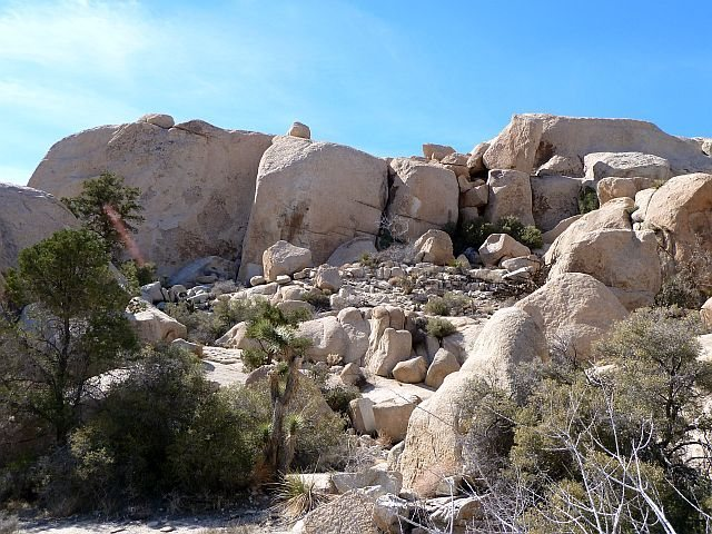 Hunk Rock - East Face, Joshua Tree NP