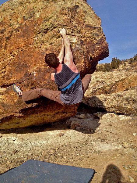 Rock Climbing Photo: The Underwriter.