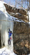 Rock Climbing Photo: Leading Ranger Danger.