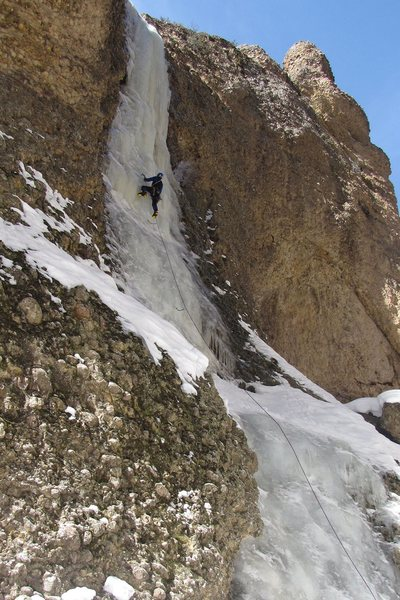 Rock Climbing Photo: Maple Moon, March 2