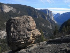 Rock Climbing Photo: This boulder features several easy problems and a ...