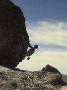 Rock Climbing Photo: Antennae 2 boulder