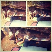 Rock Climbing Photo: first day on BD. photo, spot, coaching and beta by...