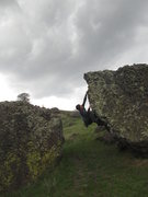 Rock Climbing Photo: Pulling the moves of Underworld on the Wildside bo...